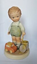 """""""I'se Been Painting"""" - Memories of Yesterday - Lucie Attwell Figurine by Enesco"""
