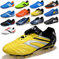 Mens Boys Soccer Shoes Cleats Football Indoor Trainers Sneakers Sports Shoes TF