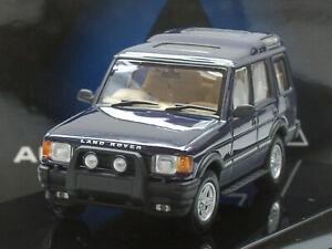 AUTOart Landrover Discovery XS V8, 1994 dunkelblau met. - 54903 - 1:43