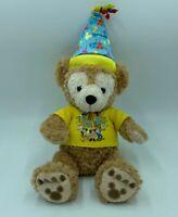 "Disney Parks Duffy It's My Birthday Teddy Bear Plush 17"" Hidden Mickey gift"