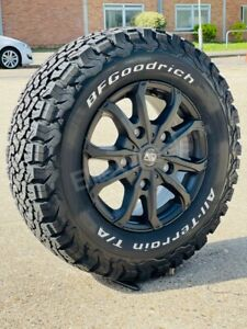"""16"""" FORD TRANSIT CUSTOM MK8 ALL TERRAIN ALLOY WHEELS AND BFG TYRES MSW 5X160"""