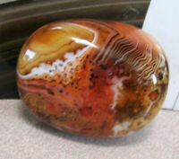 Natural Banded Agate Madagascar Mineral Specimen Mushroom Jellyfish Space Ship