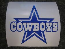 Dallas Cowboys decal sticker for RTIC YETI OZARK TUMBLERS made from 651 oracal