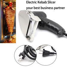 220V Elettrico Doner Kebab Coltello Affettare Spessore 1-8mm Coltello Per Kebab