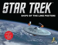 Star Trek: Ships of the Line Posters by Universe Publishing(NY) (Hardback, 2015)