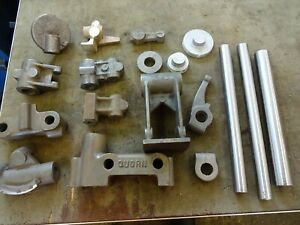 QUORN TOOL AND CUTTER GRINDER CASTINGSCastings for the Quorn grinder
