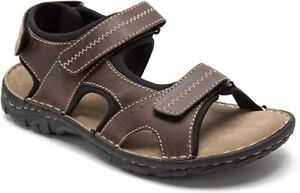 Red Tape Waxy Mens Timber Brown Leather Memory foam Slip On Casual Comfort Mule