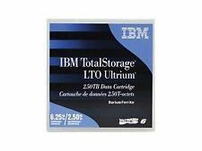 00v7590l IBM TotalStorage LTO Ultrium 6 2.5 TB / 6.25 T