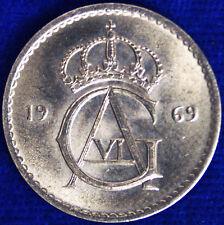50 ORE 1969 SVEZIA SWEDEN #307A