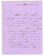 LA FEMME DE LETTRES FEMINISTE SEVERINE AU CRITIQUE GABRIEL MOUREY EN 1902