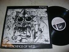 AUSGANG The Teachings Of Web UK PUNKWAVE 1984 MAXI
