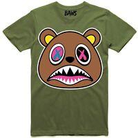 7f7da6cbe61 Baws Olive Crazy Baws T-Shirt