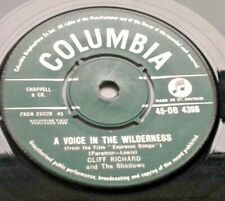 "Cliff Richard - A Voice In The Wilderness 1960 7"" Vinyl Film ""Expresso Bongo"""