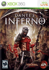 DANTE'S INFERNO   XBOX 360 PAL GAME USED IN GOOD CONDITION