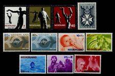 Olanda 1965 Nuovo ** 100% Arte Cultura Militare Willems, ITU, pro Infanzia Tipo