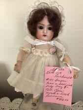 K & R, Kammer & Reinhardt Antique Bisque 9 Inch Doll