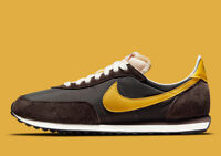 Nike Sportswear Waffle Mens Trainers 2 SP in Brown and Yellow