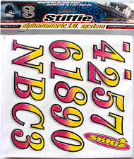 Stiffie Classic CL11 Boat PWC ID Number Decal Alphanumeric Registration Stickers