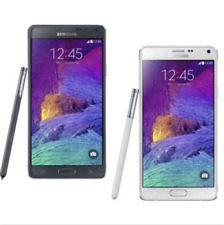 "Black samsung galaxy note 4 n910t 32gb 5.7"" 4g lte android free mobile phone"