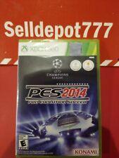 Pro Evolution Soccer 2014 (Microsoft Xbox 360, 2013) Brand New