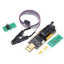 CH341A BURNER CHIP USB PROGRAMMER WRITER SOP CLIP ADAPTER EEPROM BIOS FLASH UK