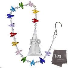 Window Lucky tree Crystals Ball Prisms Rainbow Octogon Chakra Suncatcher Gift