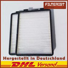 2-er Set Innenraumfilter Pollenfilter Mikrofilter BMW 5 E39 (Vgl. zu CU2736-2)