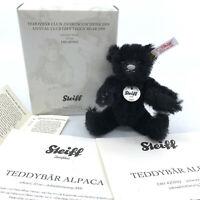Steiff Club Miniature Teddy Bear 2009 Alpaca Plush 10cm 4in Boxed Certificate