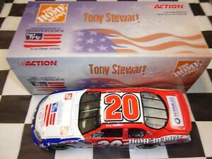 Tony Stewart #20 Home Depot Independence Day 2003 Monte Action 1:24 car NASCAR