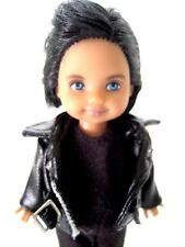 Danny Tommy Doll from the Grease Collection in Sandy's Black Pleather Jacket New