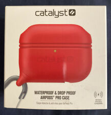 Catalyst Airpods Pro Case - Red (Waterproof and Drop Proof!) Brand New