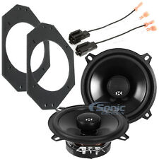 "NVX NSP525 5.25"" N-Series Coaxial Car Speaker Solution for 1997-06 Jeep Wrangler"