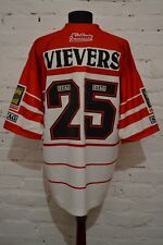 New listing VINTAGE ST HELENS HOME RUGBY SHIRT 1996 MATCH WORN? JERSEY RARE MENS 48 STAG