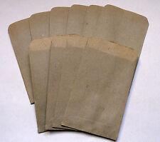 Tüten 10 Stück, Papiertüten alt, ca 6 x 9 cm, Original DDR