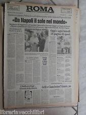 ROMA 12 Novembre 1990 Saddam Daniele Pasa Salernitana Ansaloni Salernitana di