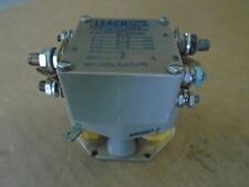 1 EA NOS LEACH CORP AIRCRAFT/ INDUSTRIAL ELECTROMAGNETIC RELAY  P/N 9205-4584