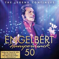 ENGELBERT HUMPERDINCK 50 2CD BRAND NEW The Legend Continues