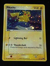 Pikachu 12/17 Pop Series 5 LP NM Misprint Holo Bleed Upside Down Pokeball+Bleed