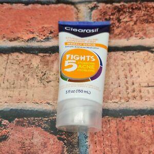 Clearasil Stubborn Acne Control 5-in-1 Weekly Scrub, 5 OZ EXP 6/21