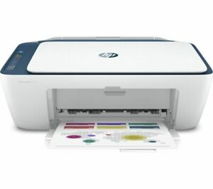 HP DeskJet 2721 All in One Wireless Inkjet Printer White - Currys