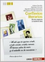 Contextos literarios, Zanichelli scuola, Garzillo/Ciccotti, 9788808178732