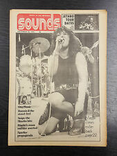 Sounds Magazine feat Maggie Bell: September 28th 1974