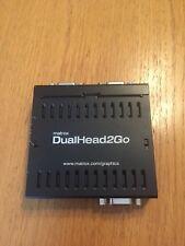 Matrox DualHead2Go D2G-A2AF External Multi Display VGA Adapter