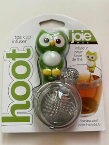 Joie MSC Green HOOT Owl Tea Cup Infuser Loose Tea Stainless Steel NEW