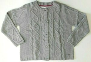 Women Ladies ex Country Rose by EWM grey cable cardigan