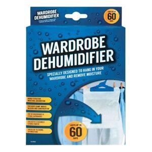 Wardrobe Dehumidifier Hanging Sachet Damp Mildew Condensation