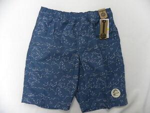 "O'Neill O'riginals Boys Maison Blue 17"" Volley Boardshorts Swimwear Sz Medium"