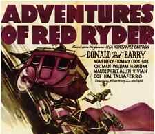 THE ADVENTURES OF RED RYDER, 12 CHAPTER SERIAL, 1940
