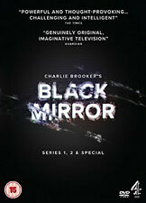 BLACK MIRROR COMPLETE SERIES 1-2  SPECIAL DVD Rory Kinnear Jessica UK Rel New R2