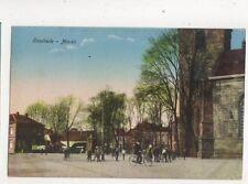 Enschede Markt Netherlands Vintage Postcard 404b